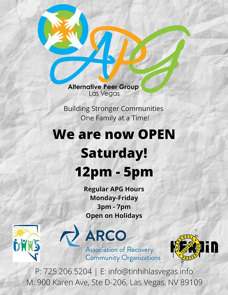 APG Saturday Flyer