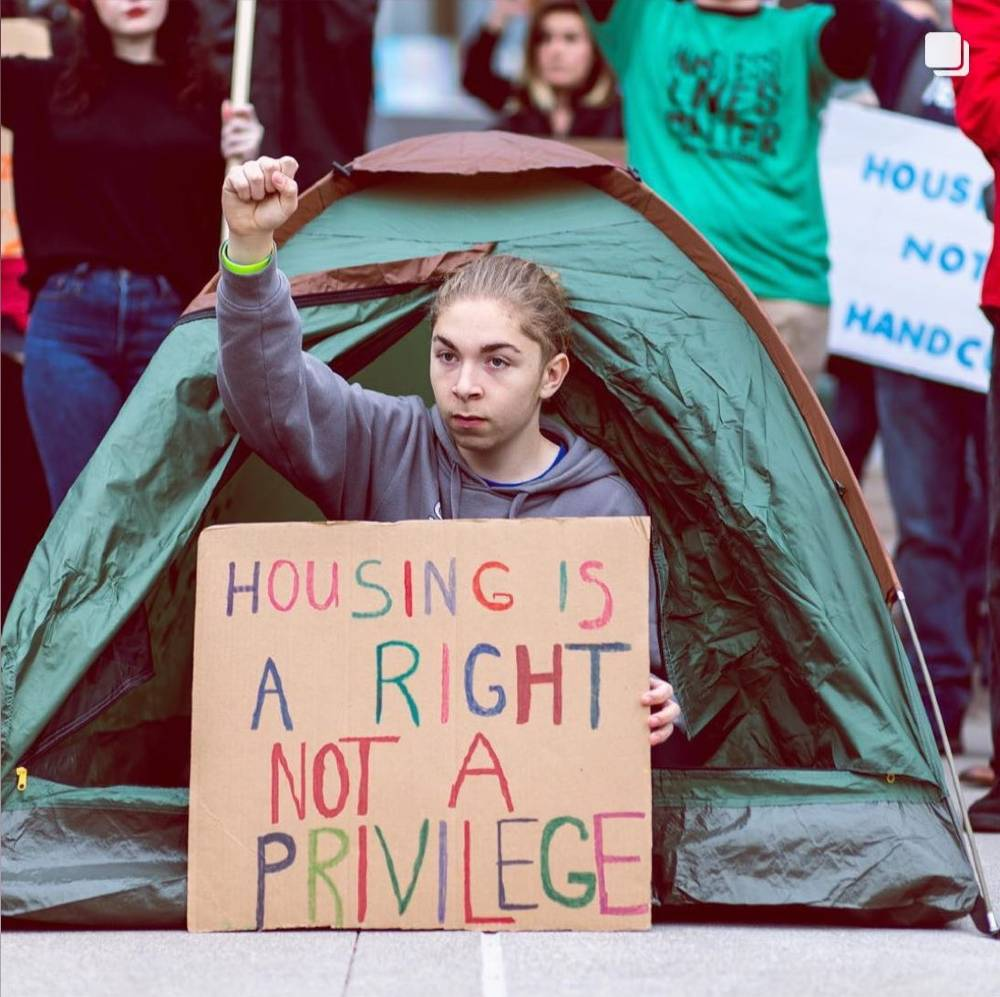 Caleb Homeless Rights