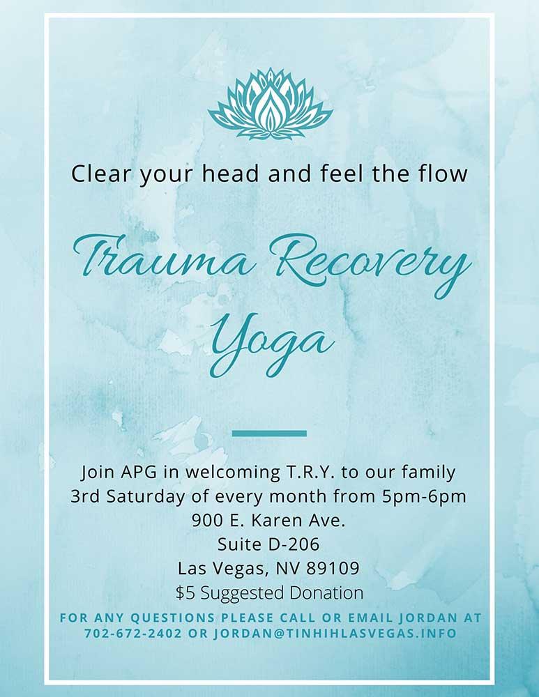 Trauma Recovery Yoga