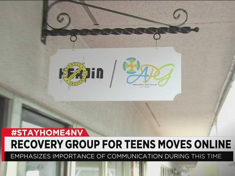 Las Vegas Recovery Group for Teens Moves Online