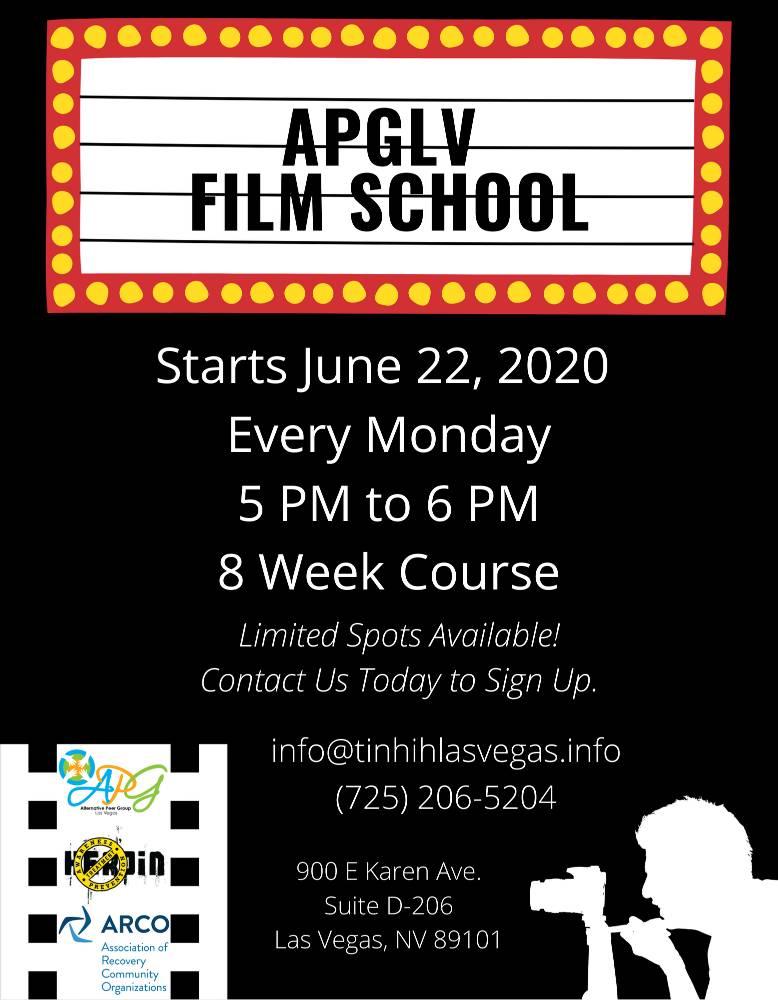 APG Film School Flyer