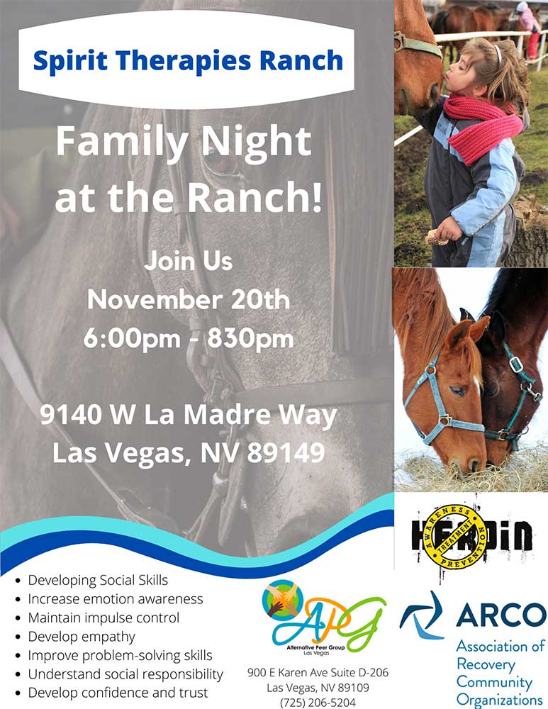 Equine November Family Flyer